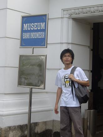 Me at Museum Bank Indonesia